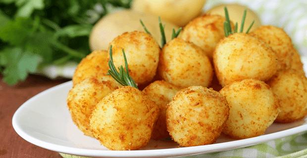 Peynirli Kıtır Patates Topları