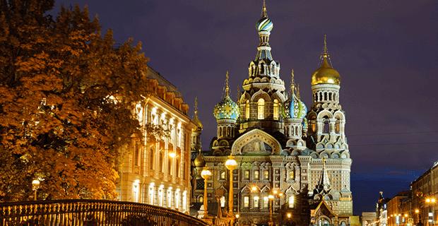 Rusya'nın Avrupa'ya Açılan Kapısı St Petersburg