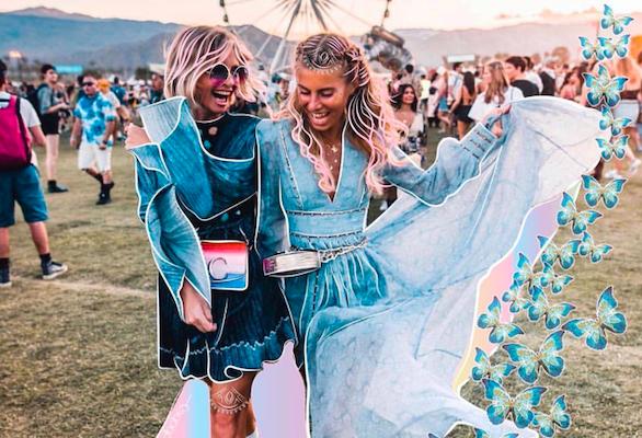 Colorful Festival Spirit With Coachella