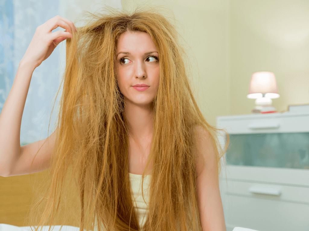 Kabaran Saçlara Evde Çözüm