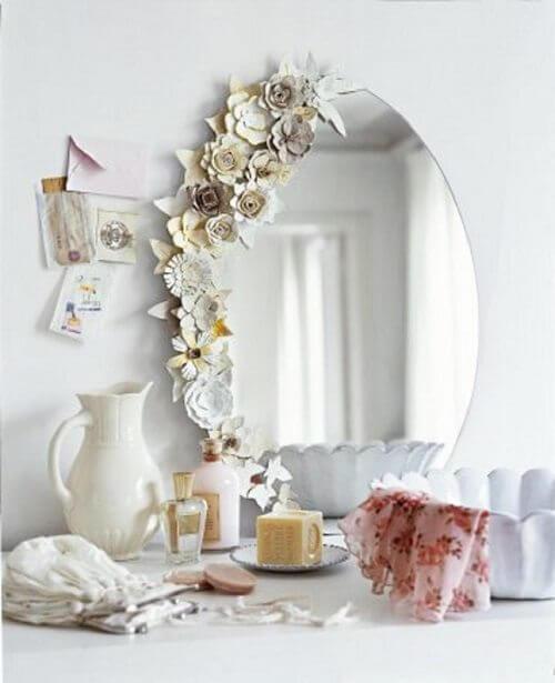 Ayna Süsleme Ile Ev Dekorasyonu Kadincom