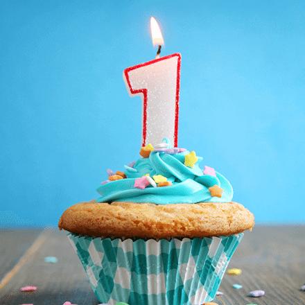 1 Yaş Doğum Günü Pastası