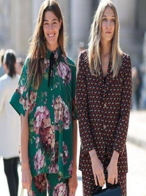 Sokaklarda Pijama ve Gecelik Modası