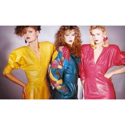 Bekleidungsmode in den 90ern.