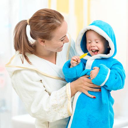 Bebeklerde Diş Temizliği