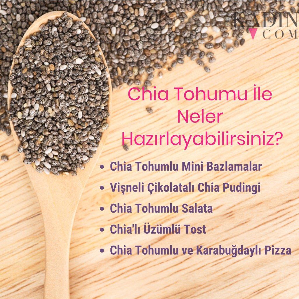 Chia Tohumuyla Hazırlanmış Birbirinden Sağlıklı 6 Tarif