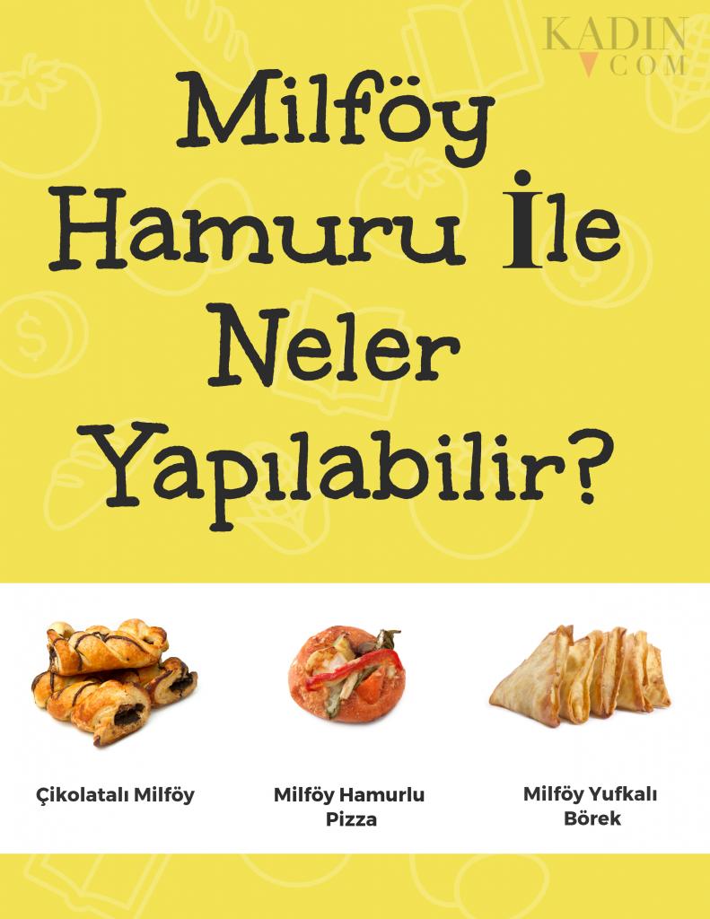 Milföy Hamurunda Sıcak Çikolata