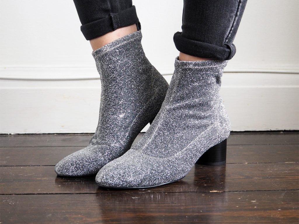 Pantolon İçine File Çoraplar