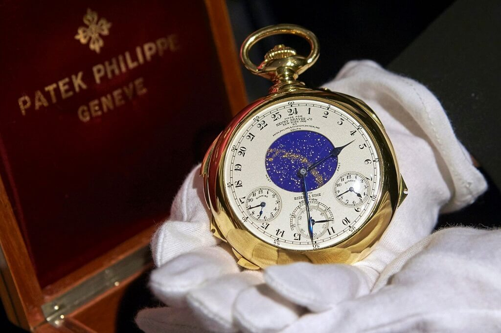 Patek Philippe Henry Graves Supercomplication (24 Million USD)