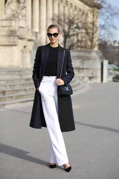 Beyaz Pantolonunuzu Eskitmenize Yardımcı Olacak Kombin Fikirleri